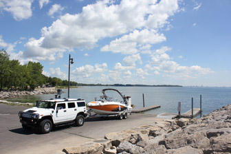 Boat Launch Crystal Beach